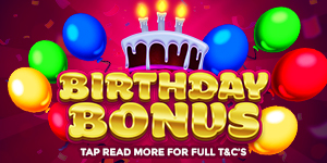 Birthday Bonus