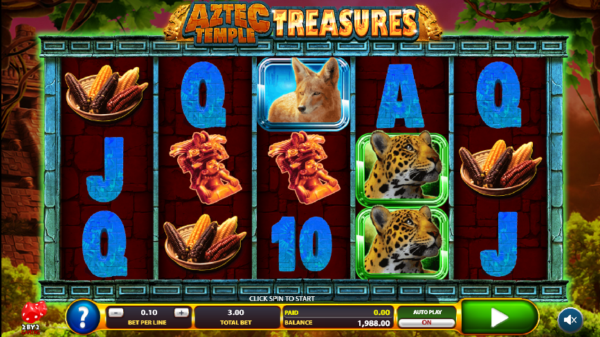Spiele Aztec Temple Treasures - Video Slots Online