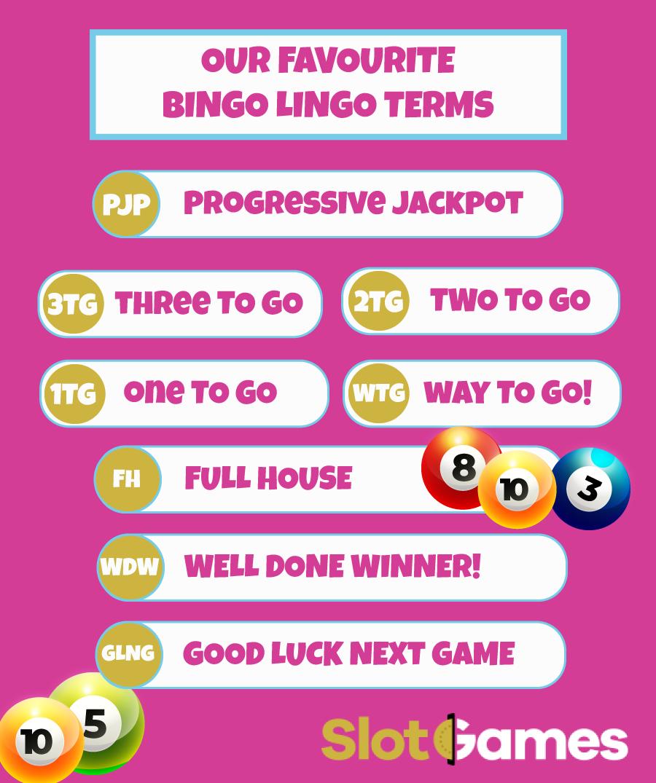 Bingo Lingo Infographic