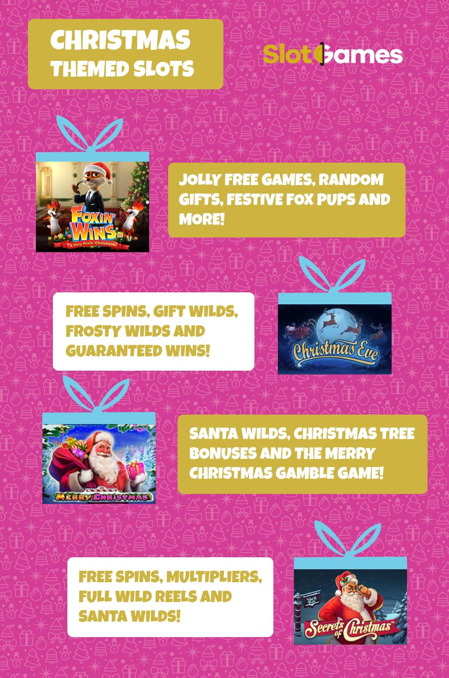 Christmas themed slot games
