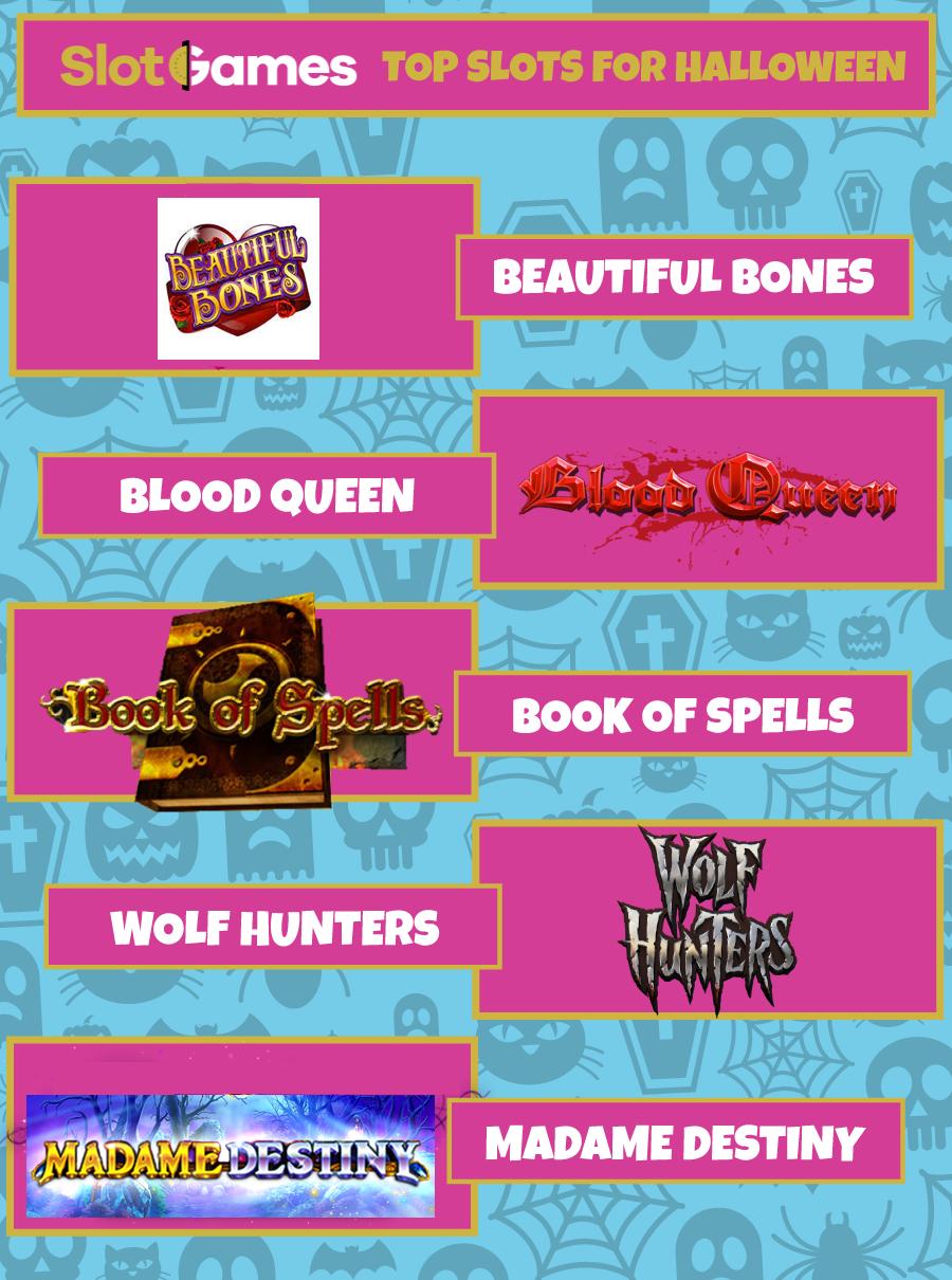 Top Slots for Halloween